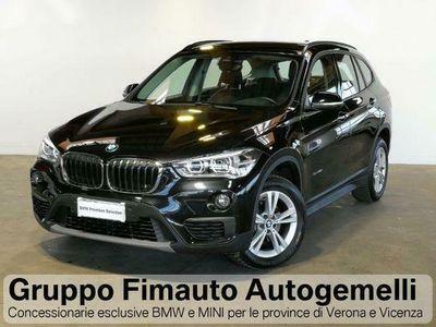 usata BMW X1 sDrive18d Business Advantage Aut.