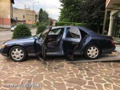 usata Maybach 57 ( 1 PROPRIETARIO) IVA ESPOSTA Benzina