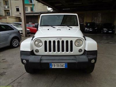 usata Jeep Wrangler 2.8 CRD SAHARA