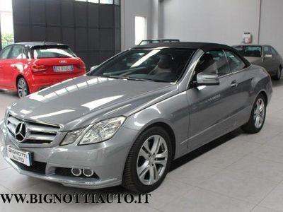 begagnad Mercedes E250 CDI Cabrio BlueEFFICIENCY Avantgarde