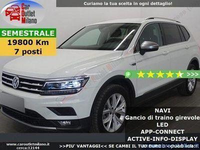 usata VW Tiguan Allspace Comf. 2018 1.4 B 150CV 6Man 5P Bianco