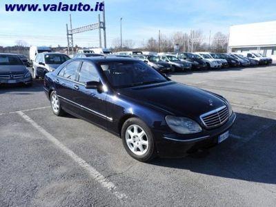 used Mercedes S320 ClasseCDI cat del 2002 usata a Mondovi'