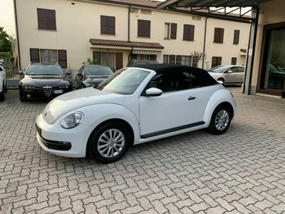 usata VW Maggiolino Cabrio 2.0 TDI Sport BlueMotion Technology