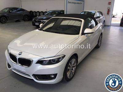 usata BMW 218 SERIE 2 CABRIO I CABRIO ADVANTAGE