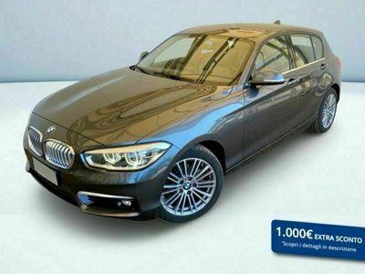 usata BMW 118 SERIE 1 (5 PORTE) d Urban 5p auto