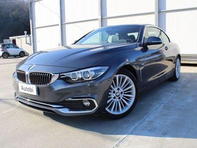 usata BMW 420 Serie 4 Cabrio Serie 4 F33 Cabrio 2017 Diesel d cabrio Luxury