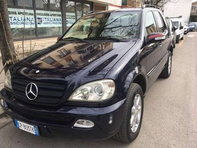 usata Mercedes ML270 turbodiesel cat CDI