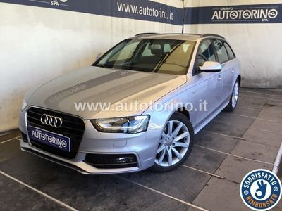 used Audi A4 A4avant 2.0 tdi Business 150cv multitronic E6