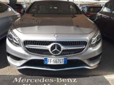 second-hand Mercedes 500 Classe S Coupé SECCoupé 4Matic Maximum del 2016 usata a Misterbianco