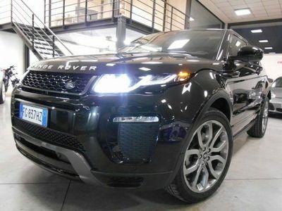 """usata Land Rover Range Rover evoque 2.0 TD4 180 CV Coupé HSE Dynamic """"Km 161"""