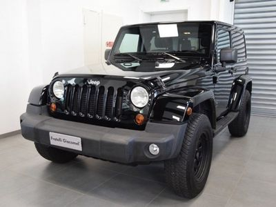 used Jeep Wrangler 2.8 CRD DPF Sahara Auto