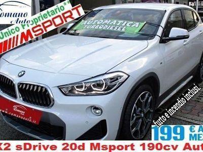 usata BMW X2 sDrive 20d Msport 190cv Auto#Garanzia Uff. Ita