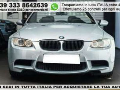 usata BMW M3 Cabriolet cat Benzina