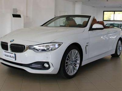 usata BMW 420 Serie 4 Cabrio(F33) Cabrio Luxury