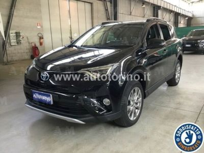 second-hand Toyota RAV4 Hybrid 2WD Lounge del 2016 usata a Olgiate Olona