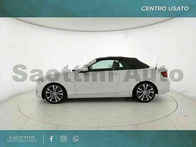 usata BMW 220 Serie 2 d cabrio sport auto my15