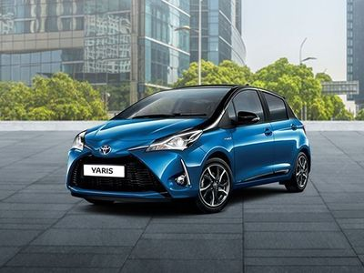 "brugt Toyota Yaris 1.5 Hybrid 5 porte Trend ""White Edition"""