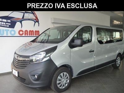 usado Opel Vivaro 1.6 biturbo s&s 9posti passo lungo euro 6 navi