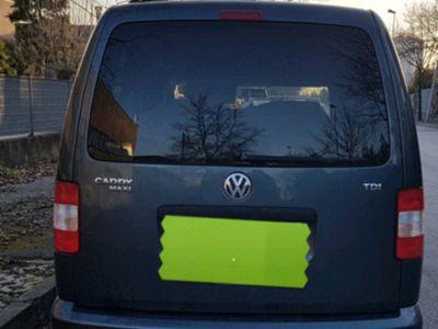 gebraucht VW Caddy Maxi Life 7 posti no autocarro
