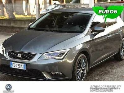 gebraucht Seat Leon ST 1.6 TDI 110 CV DSG Start/Stop Connect del 2017 usata a Roma