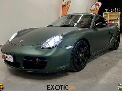 usata Porsche Cayman 3.4 S WRAPPATA (colore originale argento)