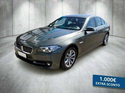 usata BMW 518 SERIE 5 BERLINA d Luxury 143cv E6