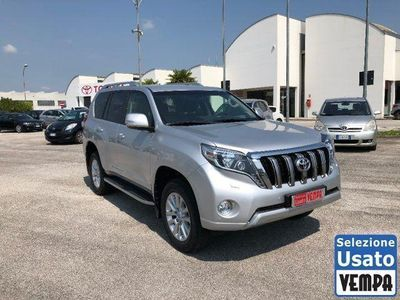 used Toyota Land Cruiser 2.8 D4-D A/T 5 porte Lounge+
