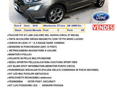 usata Ford Ecosport 1.5 100cv st-line black edition