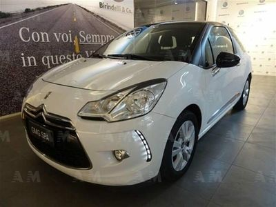 usata DS Automobiles DS3 3 1.4 HDi 70 Just Black