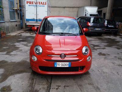 usado Fiat 500 1.2 LOUNGE rossa con solo 20 mila km c
