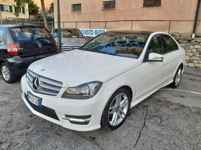 usata Mercedes C220 CDI BlueEFFICIENCY Avantgarde uniproprietario