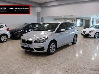 usata BMW 218 d 150cv autom. e6 ss 7posti gran to - 2018