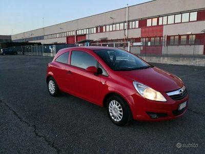 usata Opel Corsavan autocarro