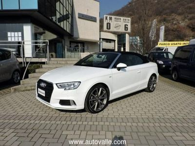 brugt Audi Cabriolet Cabrio 2.0 TDI S tronic Sport S LINE