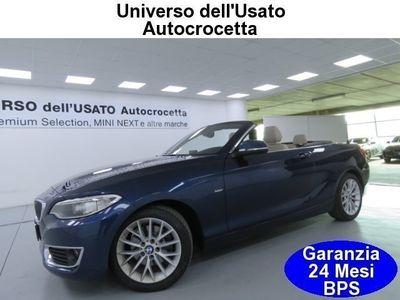 usata BMW 220 d Cabrio Luxury