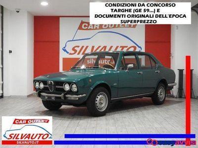 usado Alfa Romeo Alfetta 1800 1^ serie scudo stretto tipo 116.08 benzina