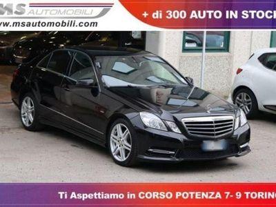 usado Mercedes E350 CDI BlueEFFICIENCY 4M. Avantgarde Navi Pelle Cerchi AMG Unicoproprietario