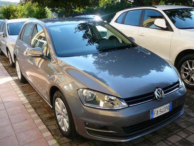 gebraucht VW Golf 1.6 TDI 110 CV DSG 5p. Highline Blu