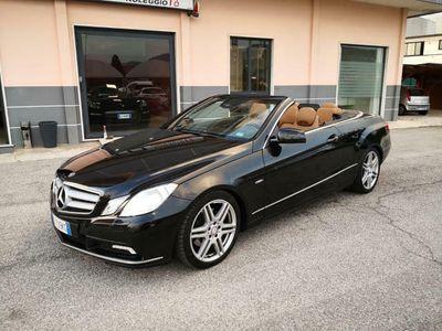 usata Mercedes E250 CDI Cabrio BlueEFFICIENCY *FULL OPTIONAL*