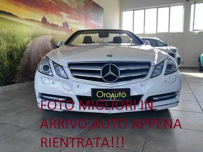 usado Mercedes E220 CDI Cabrio BlueEFFICIENCY 75.000km!!!!