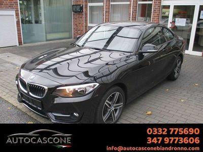 usata BMW 218 Serie 2 Coupé SPORT+CRUISE CONTROL+VETRI SCURI