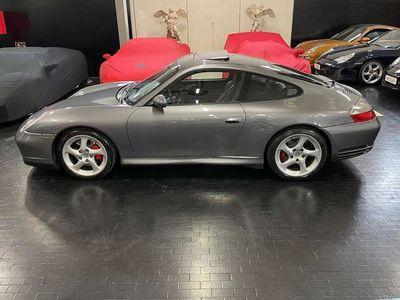 usata Porsche 911 Carrera 4S 996 cat Coupé tetto sedili sport permut