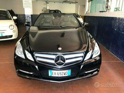 usata Mercedes E220 cdi cabrio ful optional