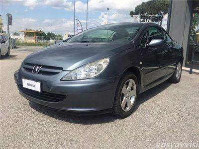 usata Peugeot 307 CC 1.6 16v affarissimo benzina coupè grigio chiaro