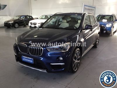 used BMW X1 X118d xdrive xLine auto my18