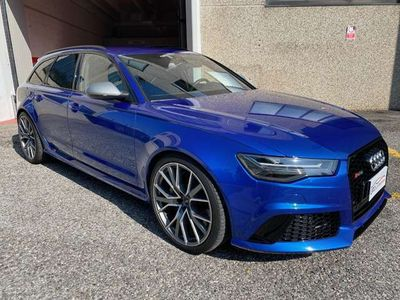 usata Audi RS6 Avant 4.0 TFSI quattro tiptronic performance 605cv