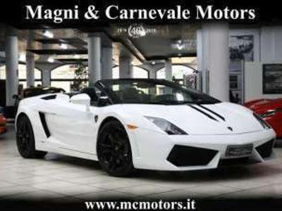 usata Lamborghini Gallardo 5.2 V10 LP560-4 SPIDER|LIFT SYST.|SCARICO CAPRISTO Benzina