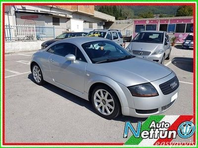 usata Audi TT coupé 1.8 t 20v 225 cv cat quattro gpl nuovo benzina/gpl coupè manuale argento