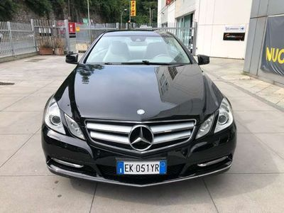 usata Mercedes E220 CDI Coupé BlueEFFICIENCY Avantgard