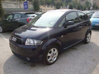usata Audi A2 1400 16v 5 posti climauto fendinebbia italiana diesel